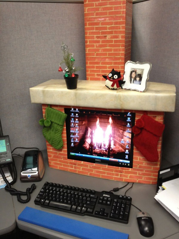 Noël au bureau