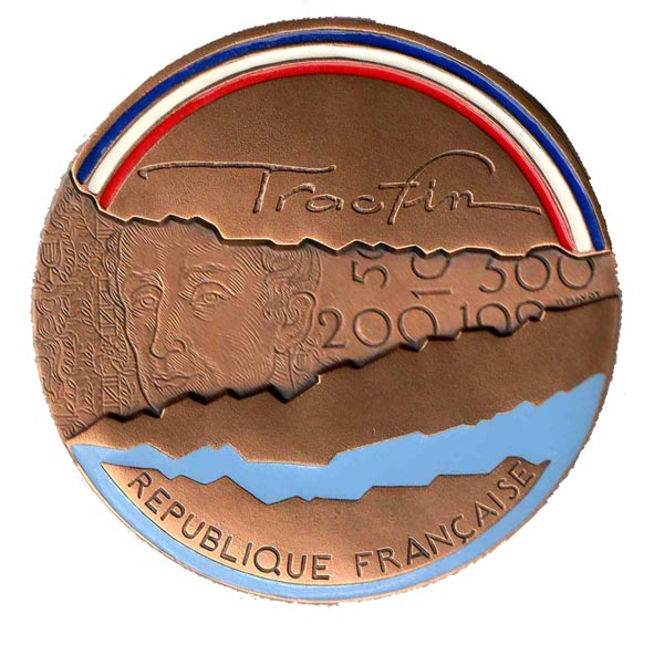 tracfin medaille